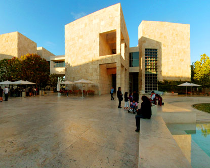 Getty Center Courtyard Virtual Tour