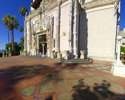 Hearst Castle Exterior Hearst Castle California