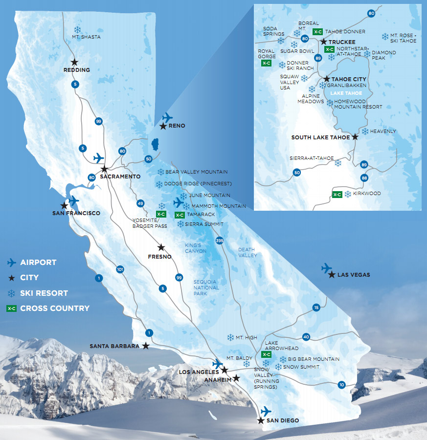 Map of California Ski Resorts Ski Resorts California Map on boreal ski resort map, st martin resorts map, mammoth mountain ski area map, california snow map, mt. shasta ski park trail map, mt. baldy ski map, heavenly ski resort trail map, california coastal islands map, california dodge ridge ski resort, phoenix resorts map, alta ski resort trail map, bear valley ski resort trail map, california fishing map, california water supply map, big bear ski resort map, california race tracks map, california campgrounds map, california hiking map, california recreation map, alpine meadows ski resort trail map,
