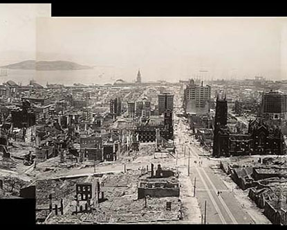 San Francisco Earthquake Virtual Tour
