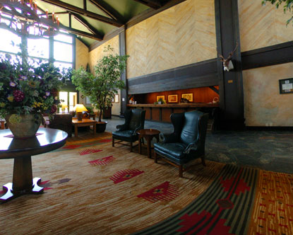 Tenaya Lodge Lobby Tenaya Lodge Yosemite Park