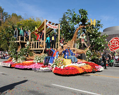 Tournament of Roses Parade 2012 - Pasadena Rose Parade