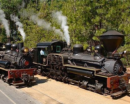 Yosemite Train Yosemite Railroad