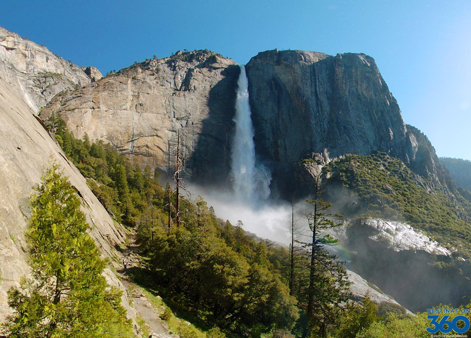 Yosemite Waterfalls Virtual Tour