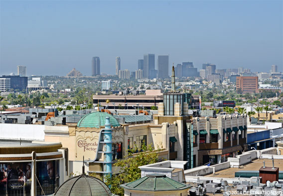 Best Location LA Skyline