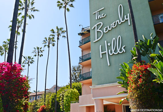 Famous Hollywood Hotels - Beverly Hills Hotel