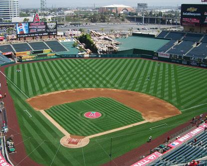 Los Angeles Angels Angels Baseball Angel Stadium