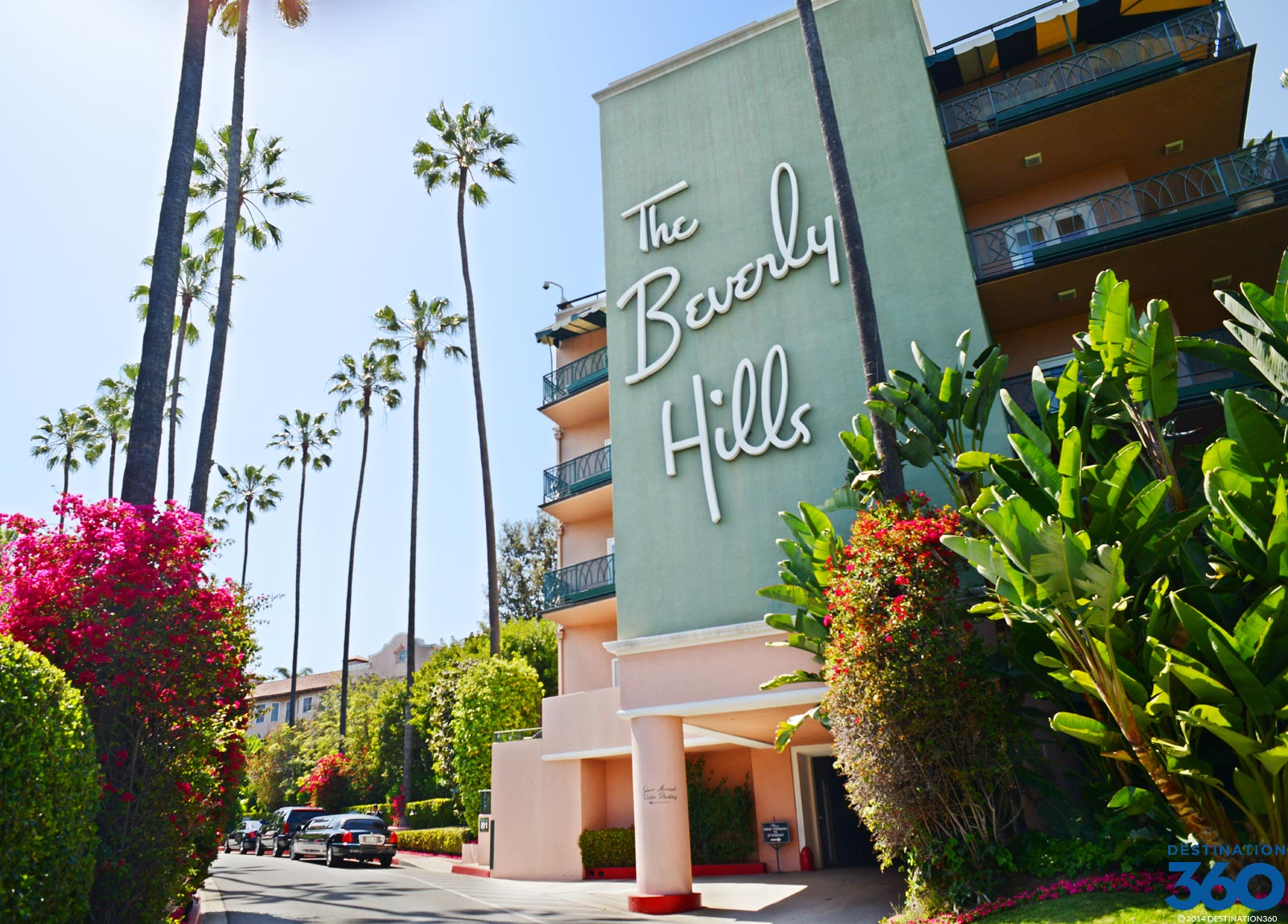 The Beverly Hills Hotel California
