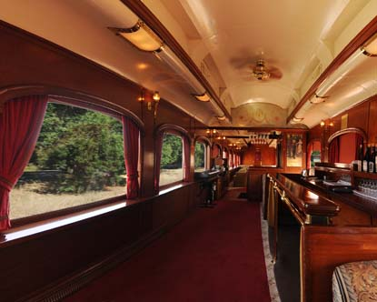 Pullman Car Napa Valley Wine Train