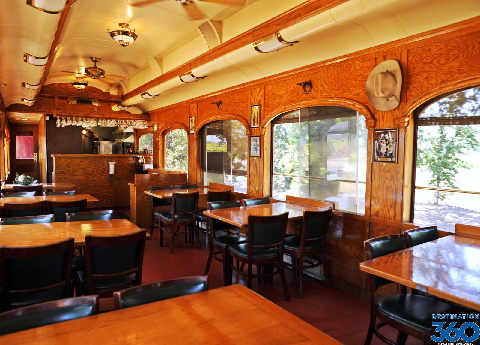 Wine Train in Napa Valley