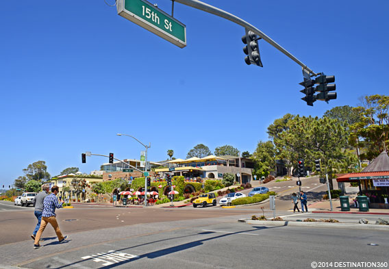 Downtown Del Mar California