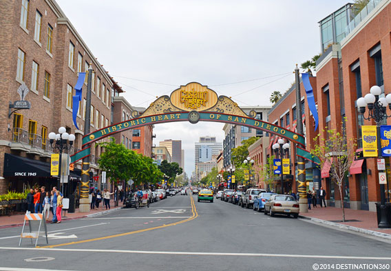 Gaslamp Quarter Shopping