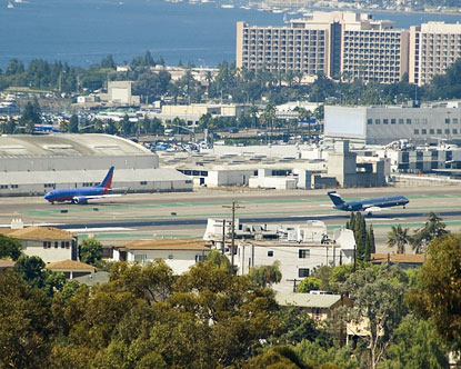 SAN - IATA code for San Diego International Airport, San ...