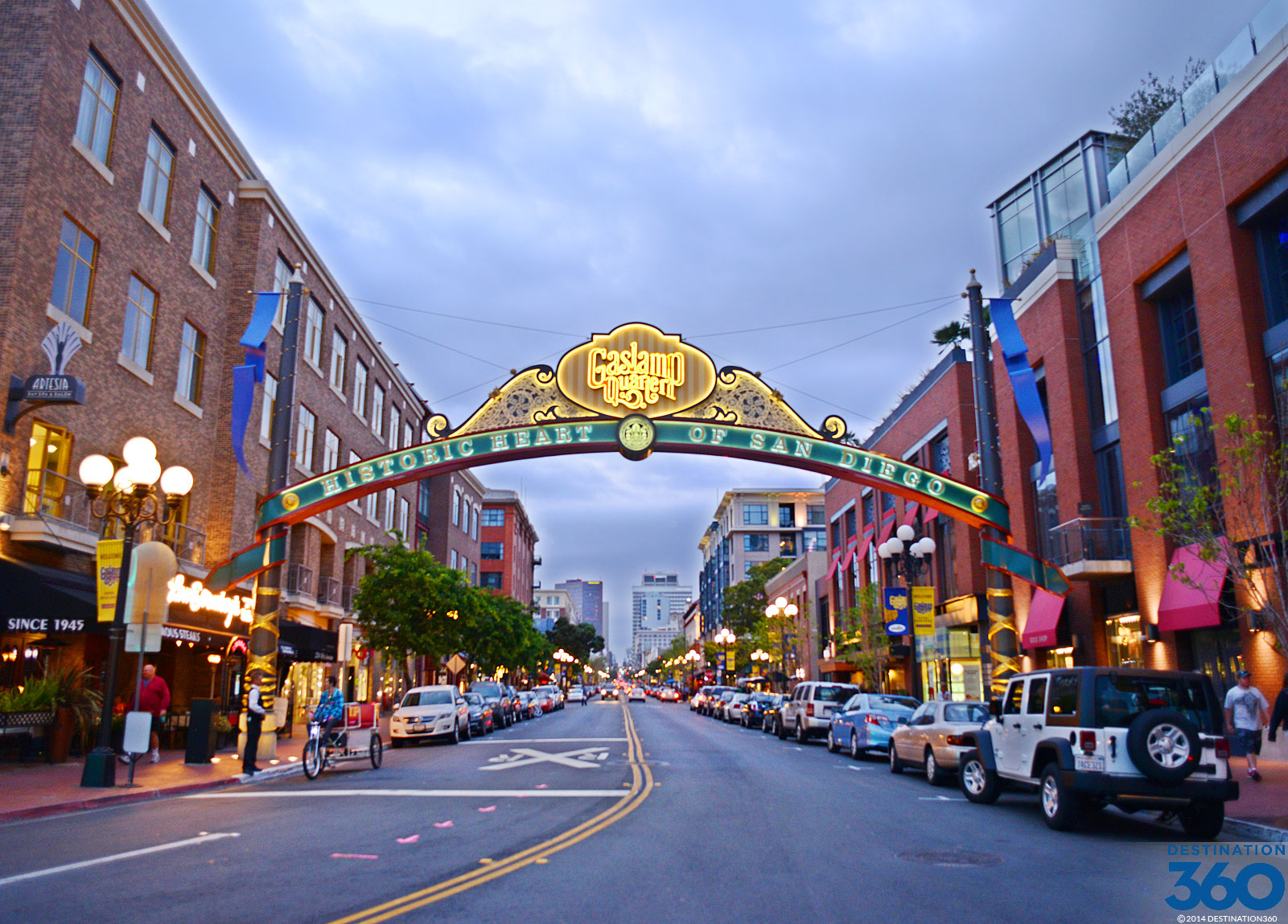 Gaslamp Quarter Virtual Tour