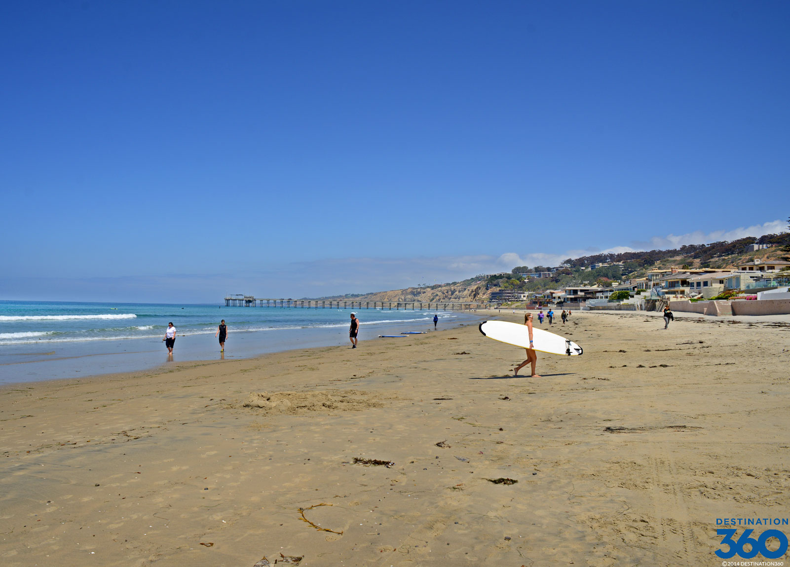 La Jolla Shores Beach Virtual Tour
