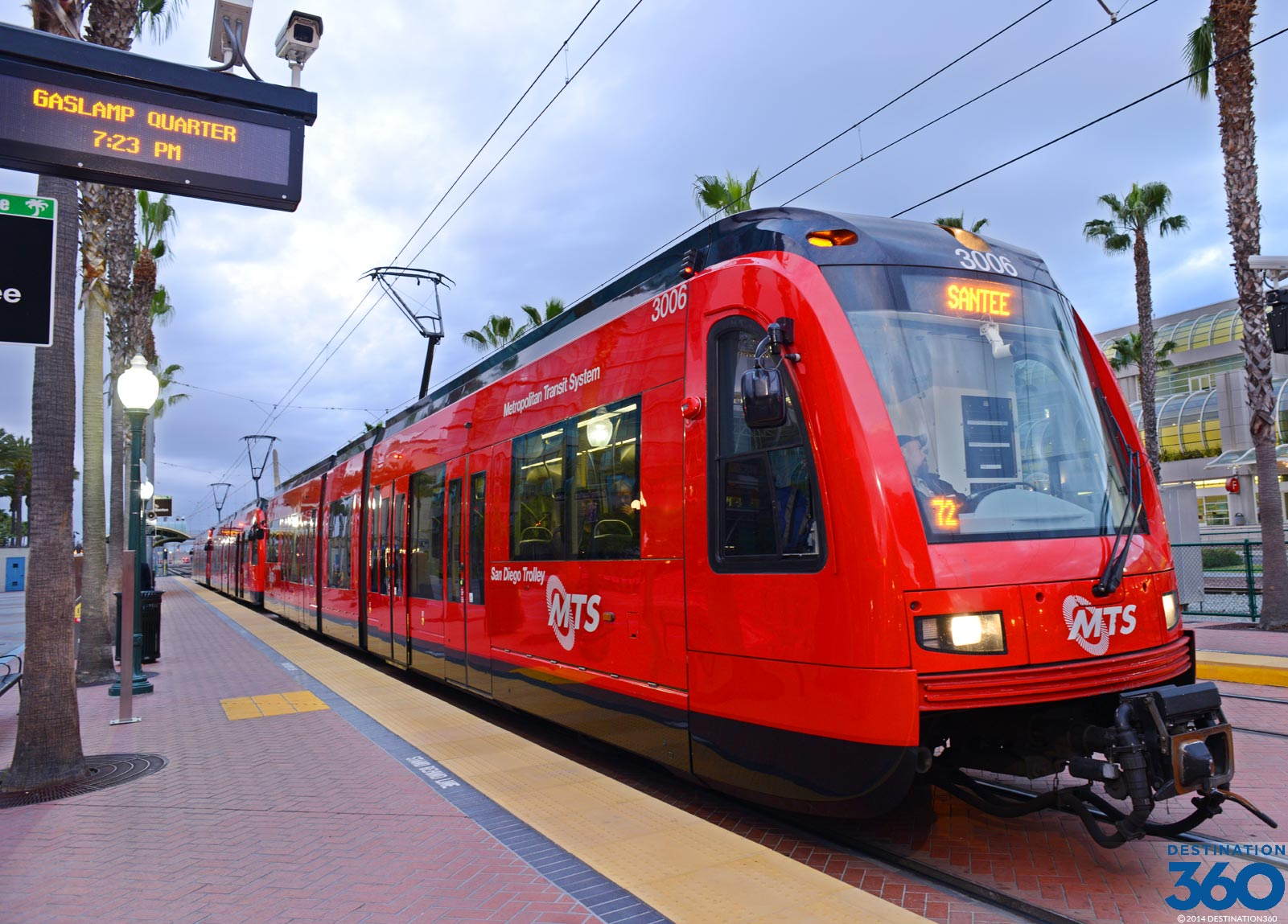 Trolley in San Diego