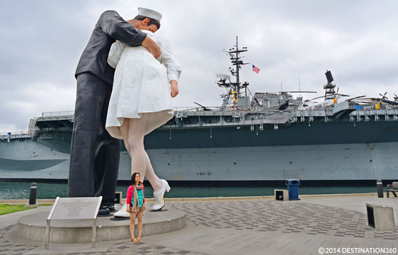 USS Midway Statue