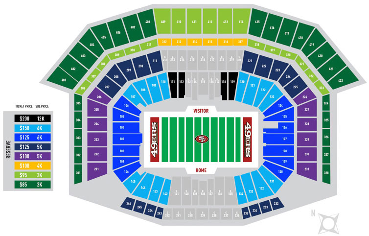 49ers Ticket Prices