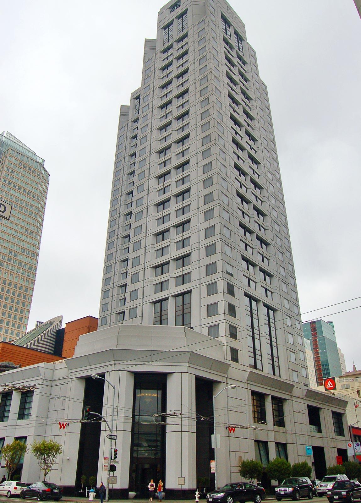 W Hotel San Francisco W San Francisco Boutique Hotel