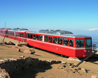 Pikes Peak Cog Railway Pikes Peak Cog Train
