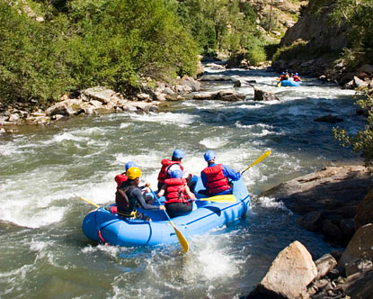Roaring Fork River Rafting Glenwood Springs Rafting