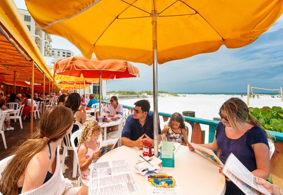 Clearwater Beachside Dining