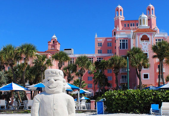 Don CeSar in St Pete Beach