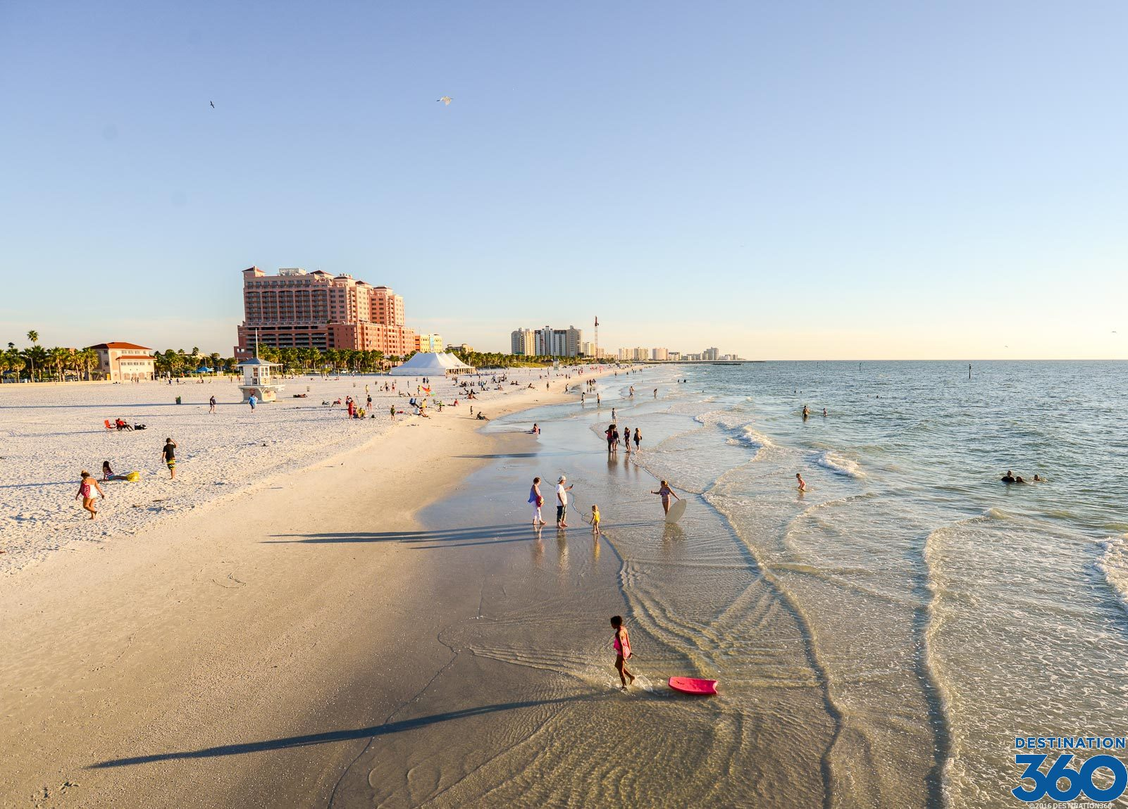 Clearwater Beach Known For Its White Sand Beaches
