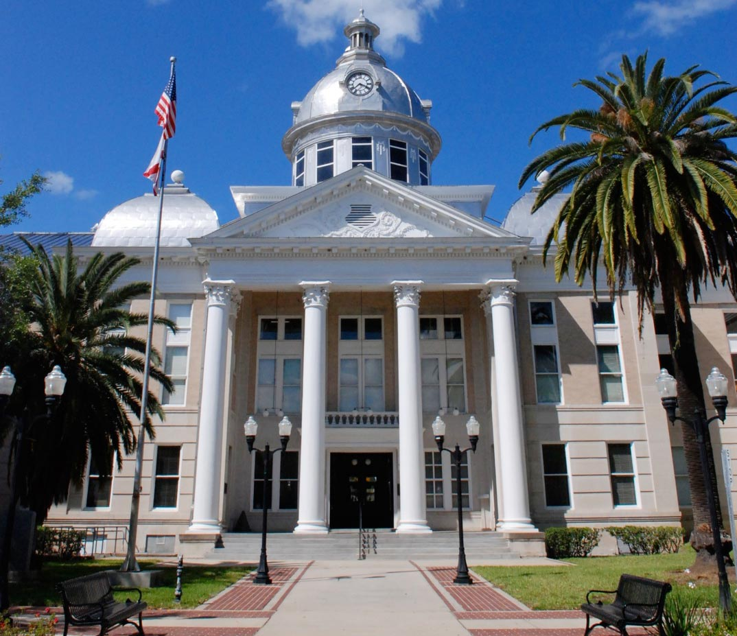 Bartow Florida Old Polk County Courthouse Bartow
