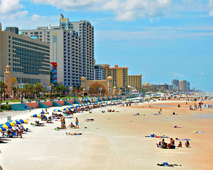 Beaches in Daytona Beach