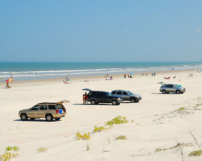 Can You Drive On Crescent Beach Fl