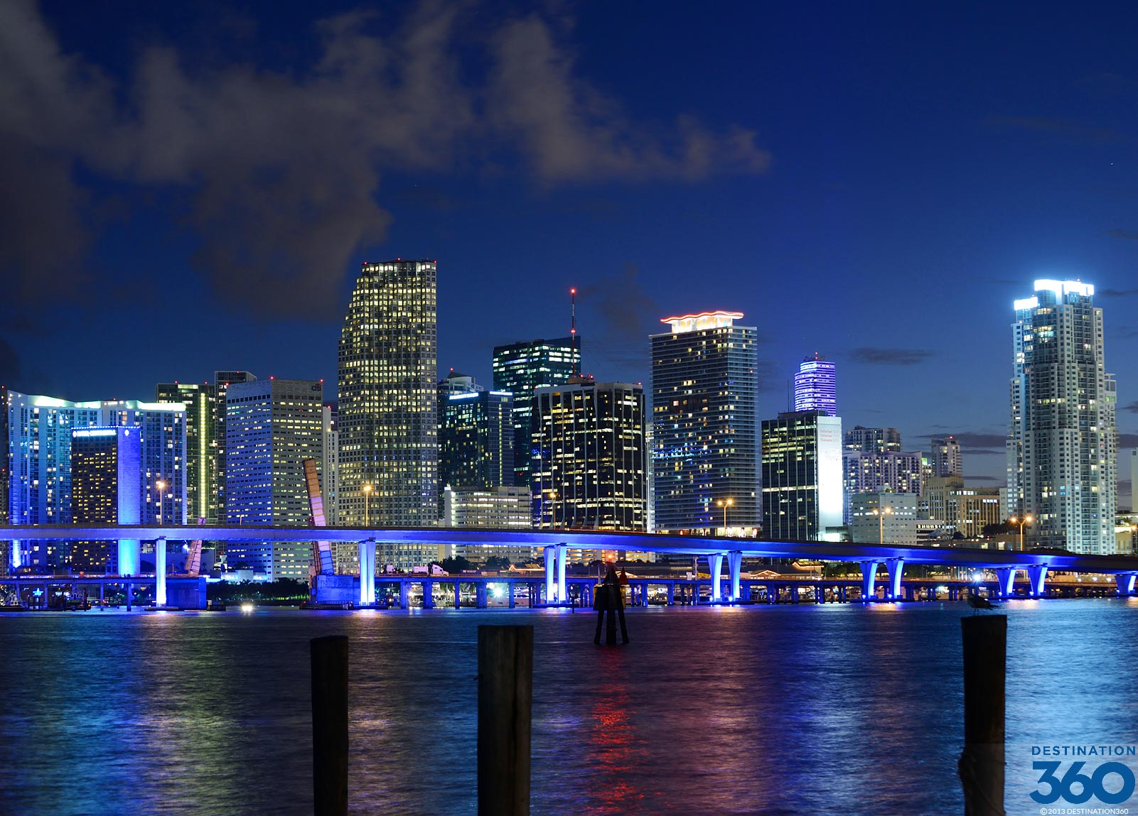 Miami Skyline Virtual Tour