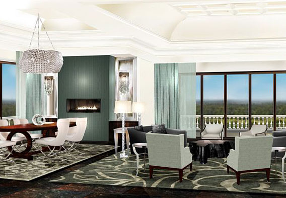 Four Seasons Orlando Royal Suite