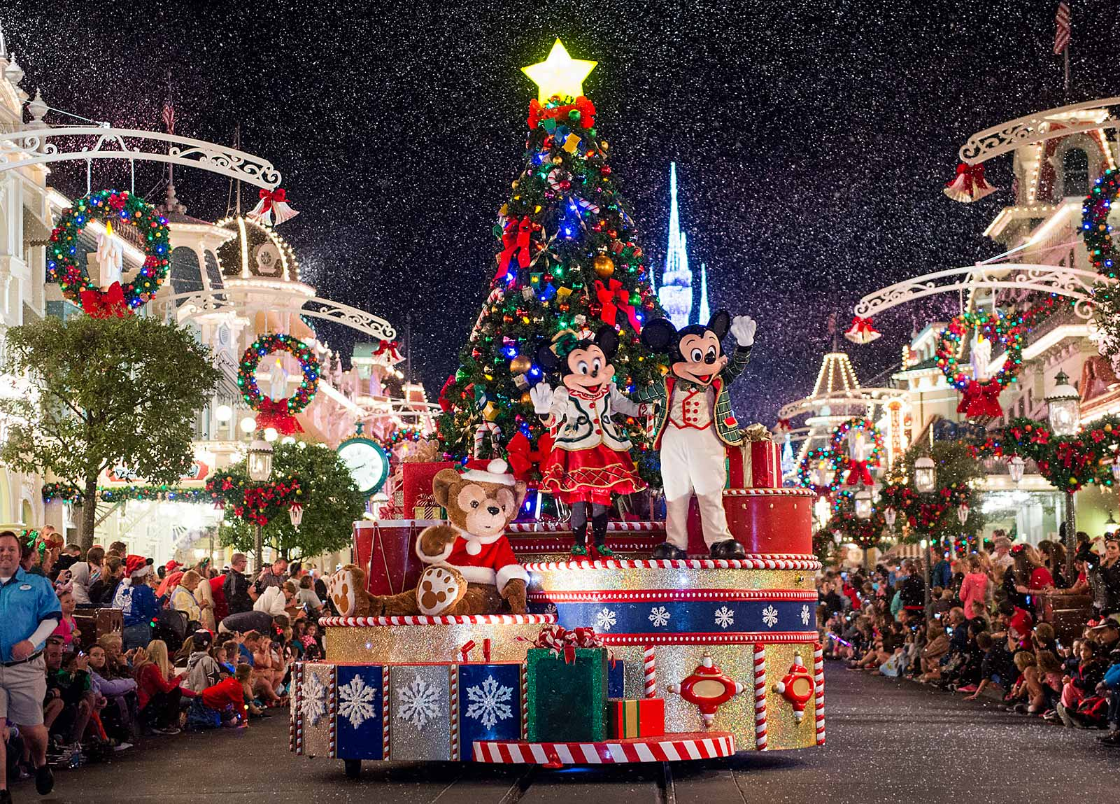 Christmas Day Parade.Christmas At Disney World 2019 Walt Disney World Christmas