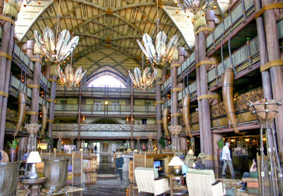 Disney's Animal Kingdom Lodge - Lobby