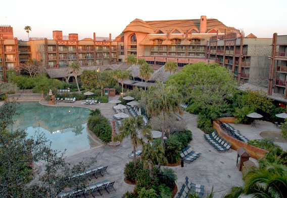 Disney's Animal Kingdom Lodge - Pool