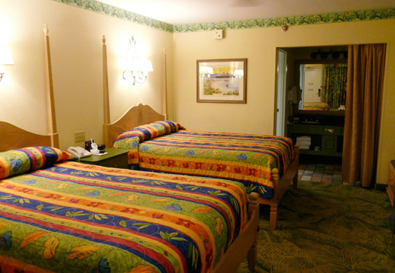 Disney's Caribbean Beach Resort Rooms