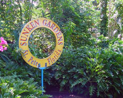 Sunken Gardens St Petersburg Botanical Garden