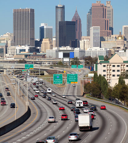 We offer the convenience of several different pick up locations within the city for your passenger van rental in Atlanta, including one at the Hartsfield Jackson Atlanta International Airport.
