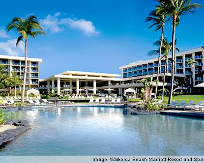 While not the most luxurious hotel on the island, the Waikoloa Beach Resort