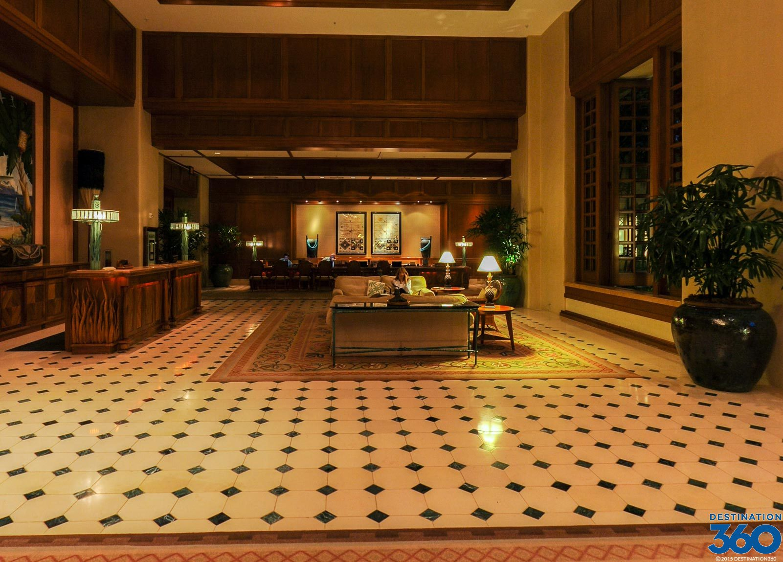 Grand Hyatt Kauai Lobby Lobby Of The Kauai Grand Hyatt
