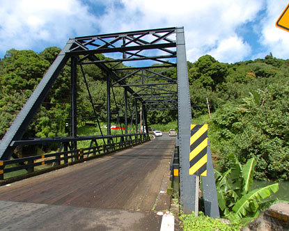 Hanalei Roads and Bridges