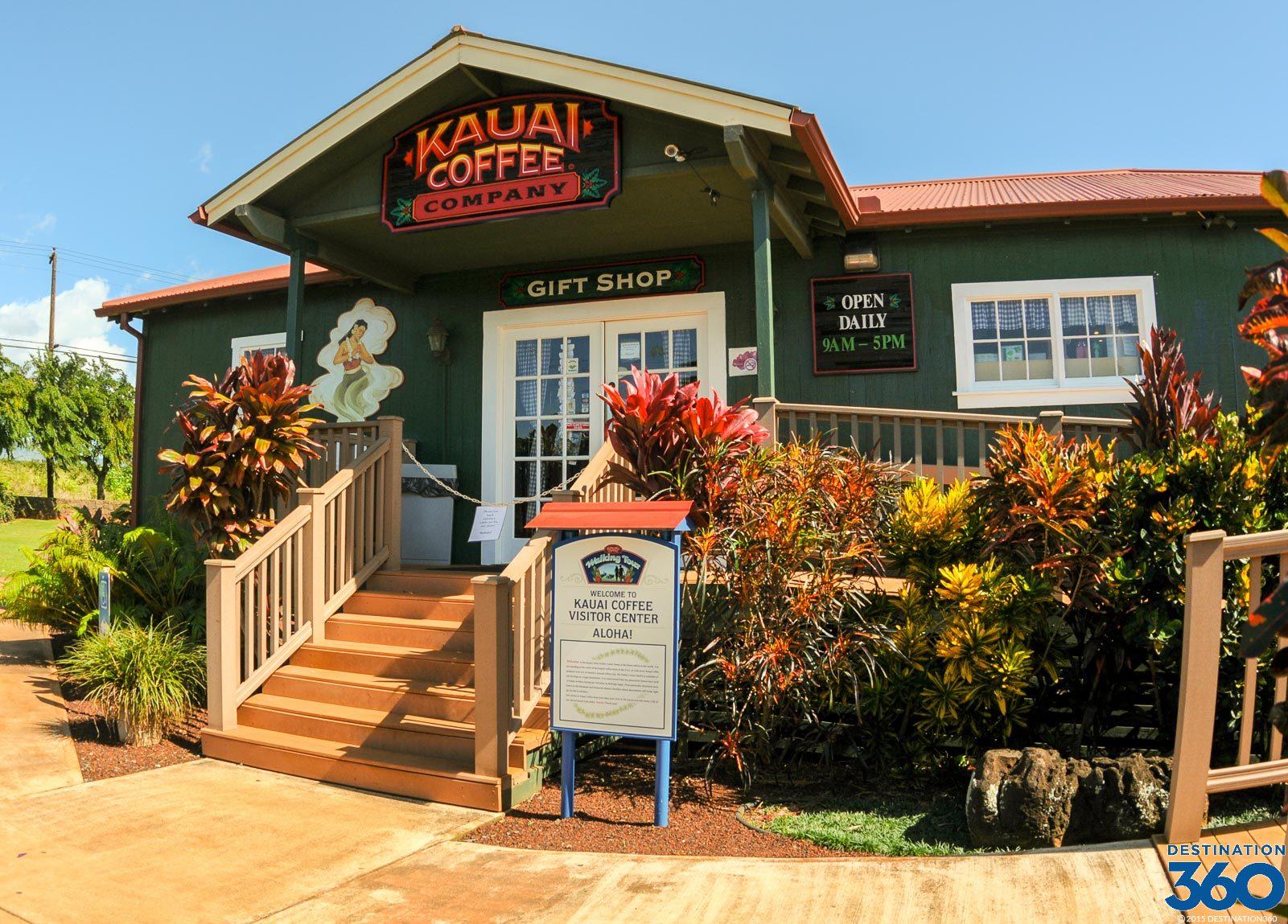 Kona Diving Company >> Kauai Coffee Company - Coffee Plantation in Kauai