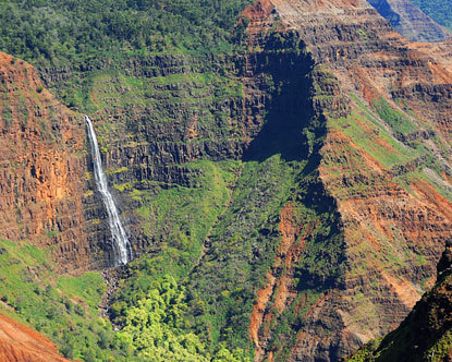 Waimea Canyon Waterfalls Waterfalls On Kauai