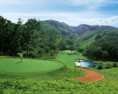 Golf At Four Seasons Lodge At Koele Experience At Koele
