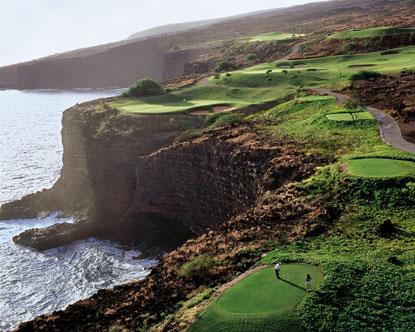 Manele Bay Resort Golf Course Golf At The Manele Bay