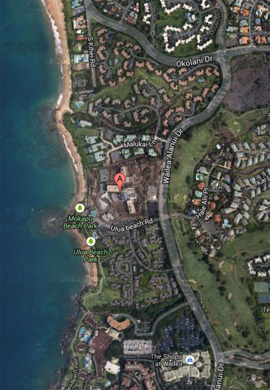 Andaz Maui Map and Address