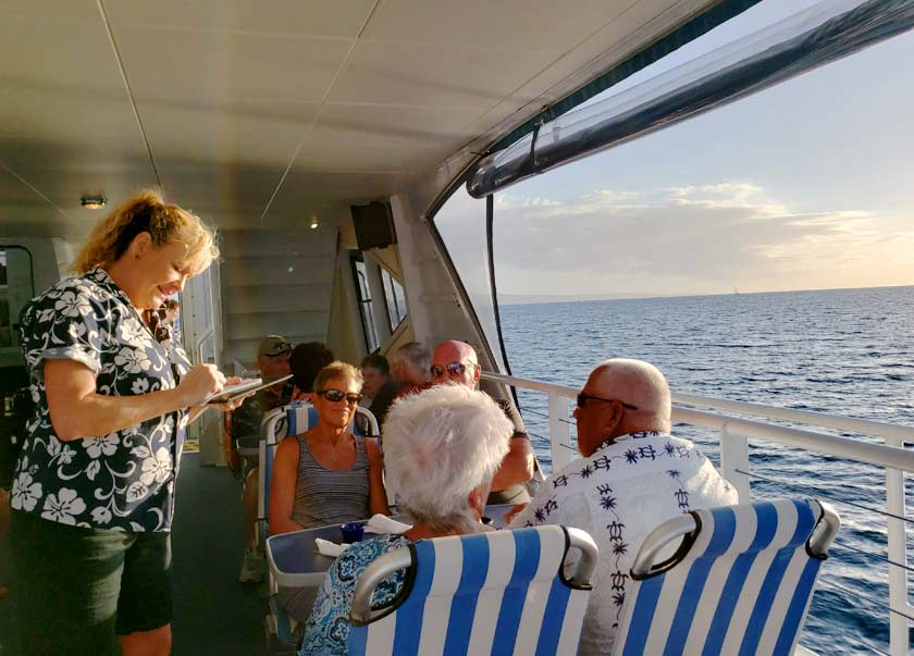 Dinner Cruise Group in Maui