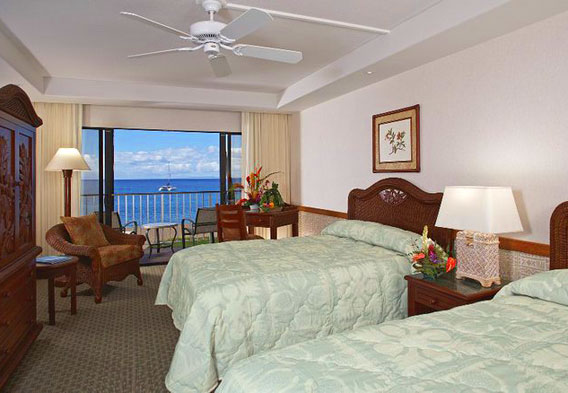 Kaanapali Beach Hotel Rooms
