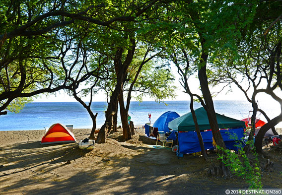 Camping in Maui